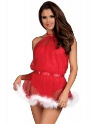 Новогоднее платье (костюм) Santastic Obsessive